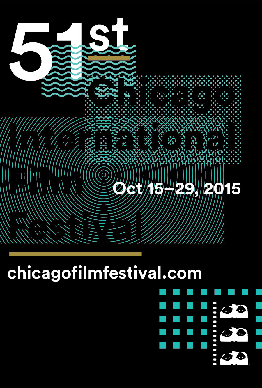 Submission Entry For The 51st Chicago International Film Festival Poster Design Competition Theme Because Everybody Loves Movies